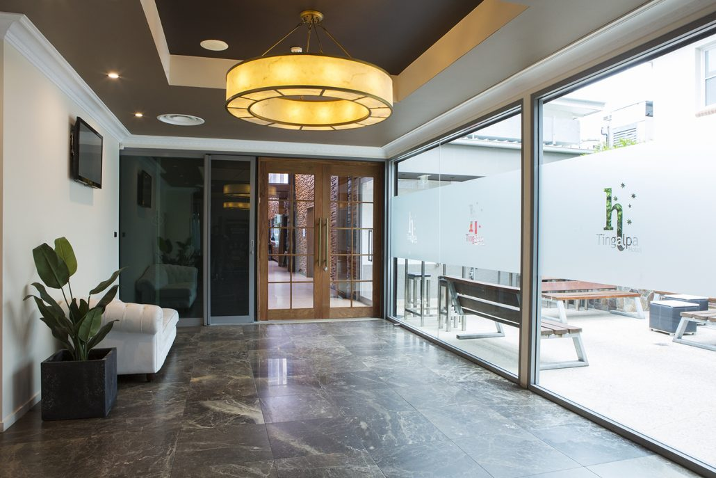 Commercial Plastering of hotel in Tingalpa, Brisbane